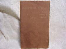 1972 CONTINENTAL/MARK IV ORIGINAL VINTAGE OWNER MANUAL