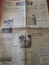 JOURNAL L'EQUIPE RACING / ARSENAL . CYCLISME VIETTO / ATHLÉTISME 1948