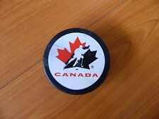 1996 Summit Series puck CANADA the best vs the rest OFFICIAL SLOVAKIA