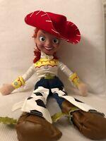 """Disney Parks/Disneyland Pixar Toy Story 18"""" Jessie Stuffed Plush Doll Cowgirl"""