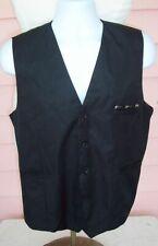 DREADNAUGHT Trim Vest Black 3 Pocket fits Mens L ACOUSTIC GUITAR Unworn NWOT