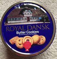 Vintage Royal Dansk Cookie  EMPTY Tin
