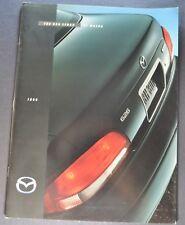 1998 Mazda 626 Sedan Catalog Sales Brochure Excellent Original 98