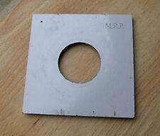 Genuine MPP mk7 y 6 VII Lente Board Panel 40 mm Compur Copal 1 agujero de ajuste