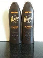 Magno Classic Spanish Shower/Bath Gel x 2 bottles  550ml.  UK STOCK.