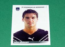 N°44 YOANN GOURCUFF GIRONDINS BORDEAUX PANINI FOOT 2009 FOOTBALL 2008-2009