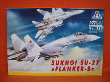 Italeri ® 187 Sukhoi Su-27 Flanker-B 1:72