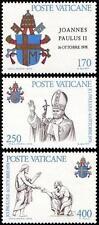 Vatican 1979 Mi 736-38 **Jan Pawel II papież John Paul Pope Papa Giovani Paolo
