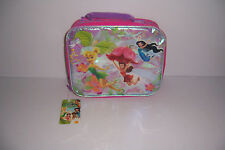 DISNEY FAIRIES TINKER BELL GIRLS INSULATED LUNCH BAG TOTE SCHOOL LUNCH BOX NWT!