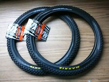 "One Pair of Maxxis Holy Roller 20"" x 1.95"" Bicycle Tires BMX Bike Tire New"