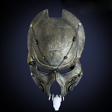 New Elder Predator Mask Aliens vs. Predator Movie Halloween Deluxe Adult Costume