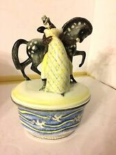 Spectacular & Super Rare Art Deco Lenci ceramic signed & dated 1930 XLNT cond
