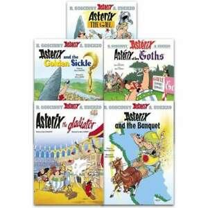 Asterix And The Roman Agent Series 1 Collection 5 Books Set (1-5)