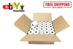 "3-1/8"" x 230' THERMAL POS RECEIPT PRINTER ROLL PAPER BPA FREE USA 50 ROLLS"