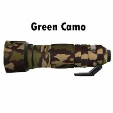 for Nikon 200 500mm F5.6 VR Neoprene Lens Protective Cover Waterproof Green Camo
