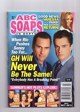 ABC SOAPS IN DEPTH GENERAL HOSPITAL GH WILL NEVER BE THE SAME JUNE 2003