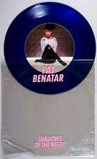 "Pat Benatar - Shadows of the Night (1982) BLUE Vinyl 12"" Single • Get Nervous"