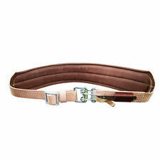Klein Tools 5426L Large Padded Leather Quick-Release Belt