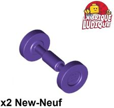 Lego - 2x roue jante wheel Skateboard Trolley violet/dark purple 2496 NEUF