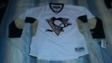 PITTSBURGH PENGUINS AWAY WHITE PREMIER HOCKEY JERSEY X-LARGE NWT