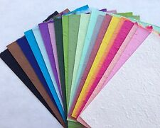 20 FULL SHEETS of handmade SAA MULBERRY PAPER - Crafts, scrapbooking, Card