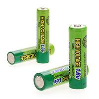 2pcs AA 2500mWh & 2 pcs AAA 900mWh 1.6V NiZn Wiederaufladbare Batterien Akkus