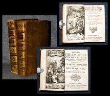 1677-79 Memoriae philosophorum oratorum poetarum... 9 in 2 Bde Witte