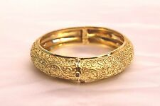"MAGNIFICENT BRAND NEW CYNTHIA BACH 18K GOLD BRACELET ""MUST SEE"""