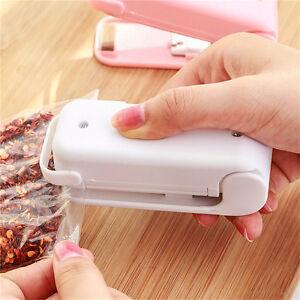 Portable Mini Home Heat Bag Sealer Sealing Machine Plastic Bag Food Packaging.ji