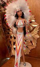 RARE Bob Mackie CHER - NATIVE AMERICAN Barbie 2007 #L3548