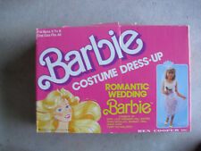 Vintage 1989 Barbie Costume Dress-up Romantic Wedding Mattel Ben Cooper in Box