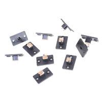 10PCS Female Socket Panel For Barrel Jack Plug Power Connector 5.5 x2.1mm TO