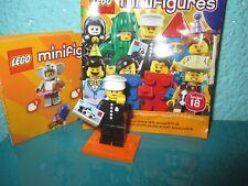 LEGO 71021 Minifguren Serie 18 Retro Polizist Classic Officer