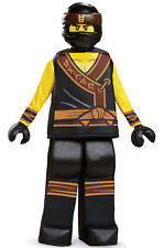 Brand New Ninjago Cole Movie Prestige Child Costume