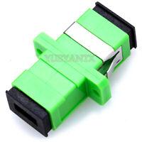 10pcs SC Fiber Optic Adapter SC Flange Coupler SC/APC Adaptor Fiber Coupler