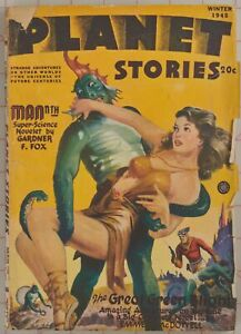 Planet Stories Winter 1945 Pulp Fiction E McDowell & Gardner Fox