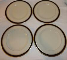 "LOT OF FOUR Pickard China Royal Blue & Gold Washington 10.625"" Dinner Plate Dish"