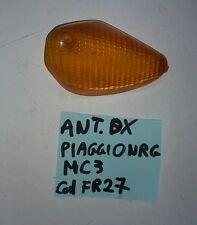 freccia gemma vetro arancione  anteriore dx piaggio nrg mc3 50cc