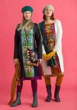 "BNWT *Gudrun Sjoden* versatile Aki embroidered kaftan dress XL 52"""