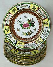 "8 Chinese Jingdezhen Famille Porcelain*Birds*Butterfly *Flowers* 7"" Salad Plates"