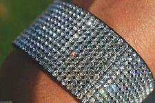 Crystal Cuff Costume Bracelets without Metal