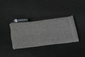 New Peepers Gray Reading Glasses / Sunglassses / Eyeglasses Case Pouch