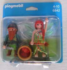 Playmobil Duo Pack Elfe und Zwerg 6842 Neu & OVP  Fee Elfe Zauberer Hexe