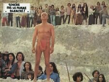 SERGE REGGIANI TOUCHE PAS A LA FEMME BLANCHE  1973 VINTAGE LOBBY CARD #2