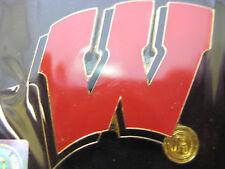 University of Wisconsin Pin - Logo, Black background