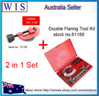 Brake &Air Line Double Flaring Tool Set,7 Dies Double Tube Flaring Tool Kit
