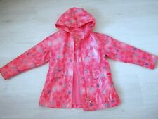 Mädchen Regenjacke Jacke Gr.122/128, TCM, rosa, geblümt