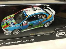 MITSUBISHI Lancer Evo X D'Hulster-Ypres 2013 IXO RALLY 1:43 DIECAST-MODEL RAM537