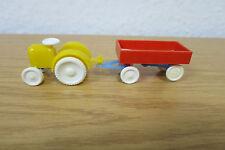 DDR - Traktor mit Anhänger - Plastik - 1/87