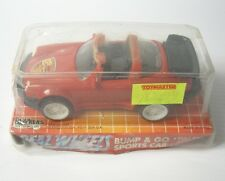 Vintage 1996 PLAY MAKERS - REAL WHEELS PORSCHE PULL BACK ACTION 14cm Bump & GO